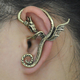 Dragon winged ear cuff / 1 piece